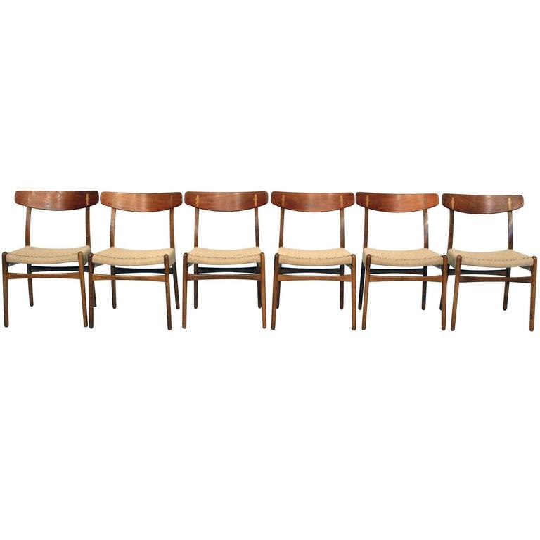 Set of Hans Wegner CH23 Chairs