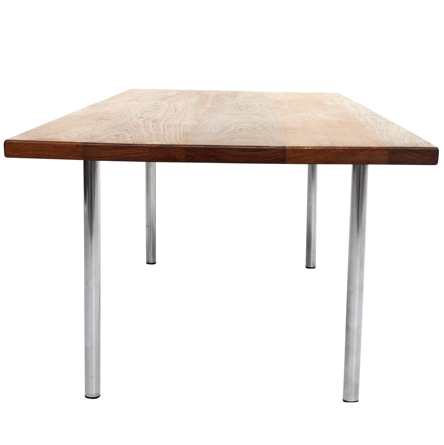 Hans Wegner Coffee Table Model AT 12 in Solid Wengé Wood For Sale