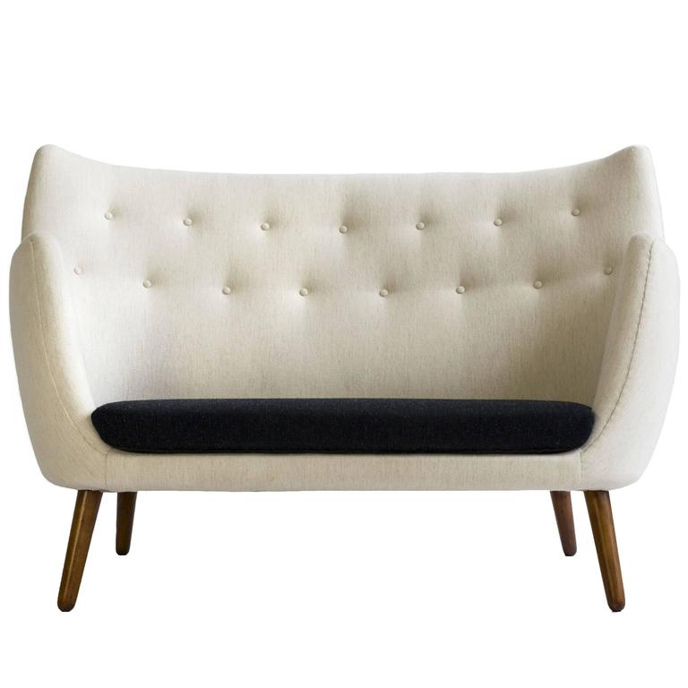 Finn Juhl U0027the Poetu0027 Sofa For Niels Vodder, ...