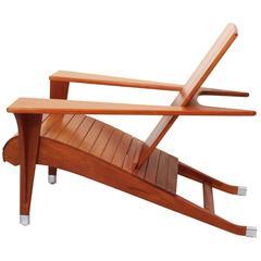 """Rare Deck Chair """"Meditation"""" by Klaus Wettergren"""