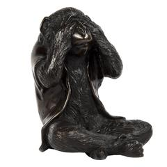 Meiji Bronze Monkey