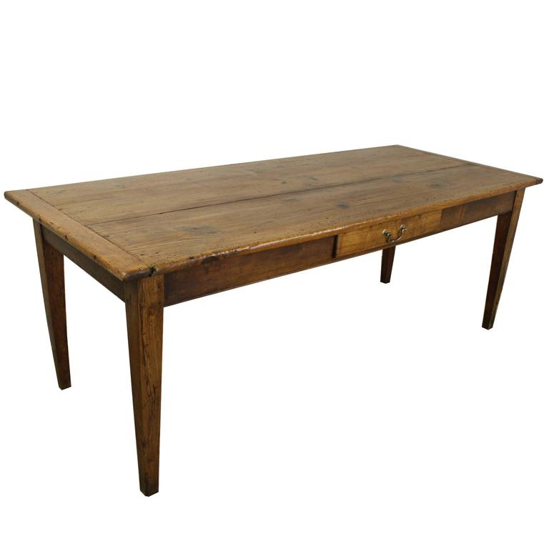 Bench Tables For Sale: Antique French Pine Farm Table For Sale At 1stdibs