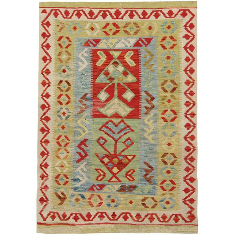 Kilim Rugs, Traditional Rugs, Colorful Rugs, Carpet from Afghanistan