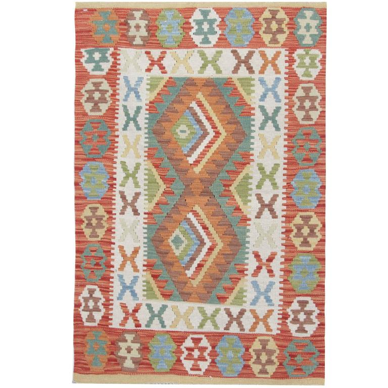 Kilim rug with traditional design for sale at 1stdibs for Kilim designs