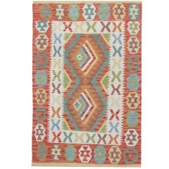 Kilim Rugs Traditional Oriental Rugs Multicolored Handmade Carpet for Sale