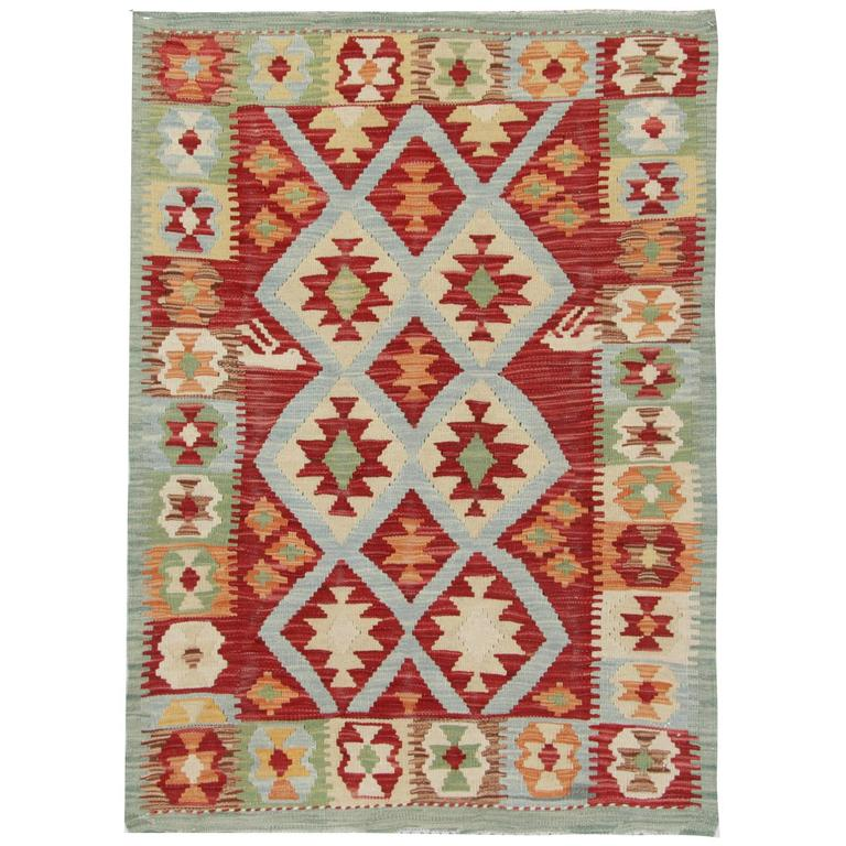 Kilim Rug With Traditional Design For Sale At 1stdibs