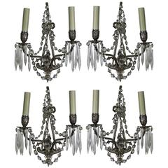 Four French Wall Sconces