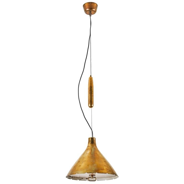 Counterweight Pulley Pendant by Paavo Tynell 1