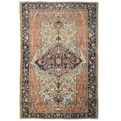 Wonderful 19h Century Sarouk Farahan Rug