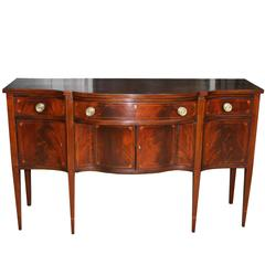 American Federal Sideboard with George Washington Commemorative Brasses