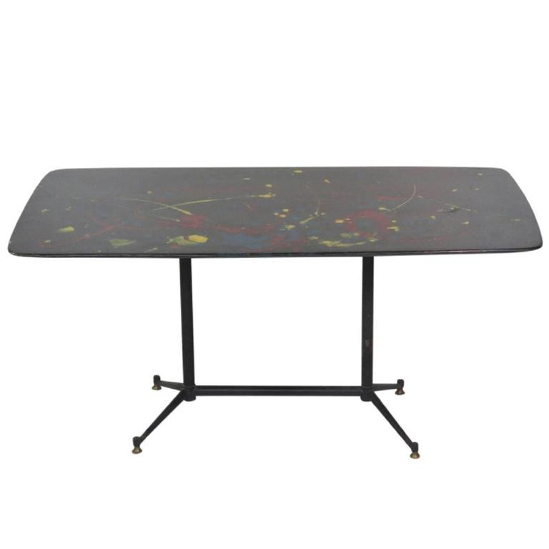 Italian Modern Painted Coffee Table For Sale At 1stdibs