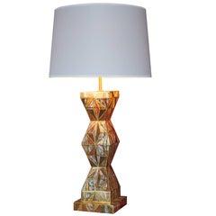 Gilded Kimono Lamp