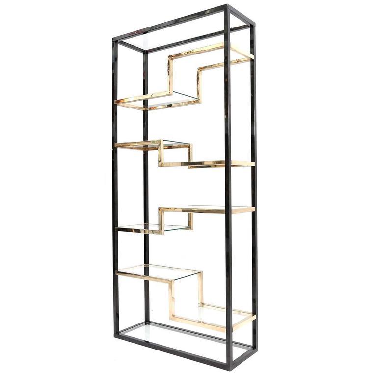 belgochrom black and gold tag re at 1stdibs. Black Bedroom Furniture Sets. Home Design Ideas