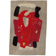 César Baldaccini, Machina Rossa, Carpet, Art Surface Editions