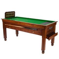 Mahogany Bar Billiards Table