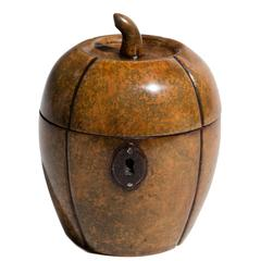 George III Melon Tea Caddy