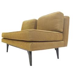 Elegant Two-Seat Edward Wormley for Dunbar Settee Sofa