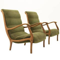 Mitzi Armchairs by Ezio Longhi for Elam, 1958, Set of Two