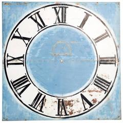 Large Painted Clock Face