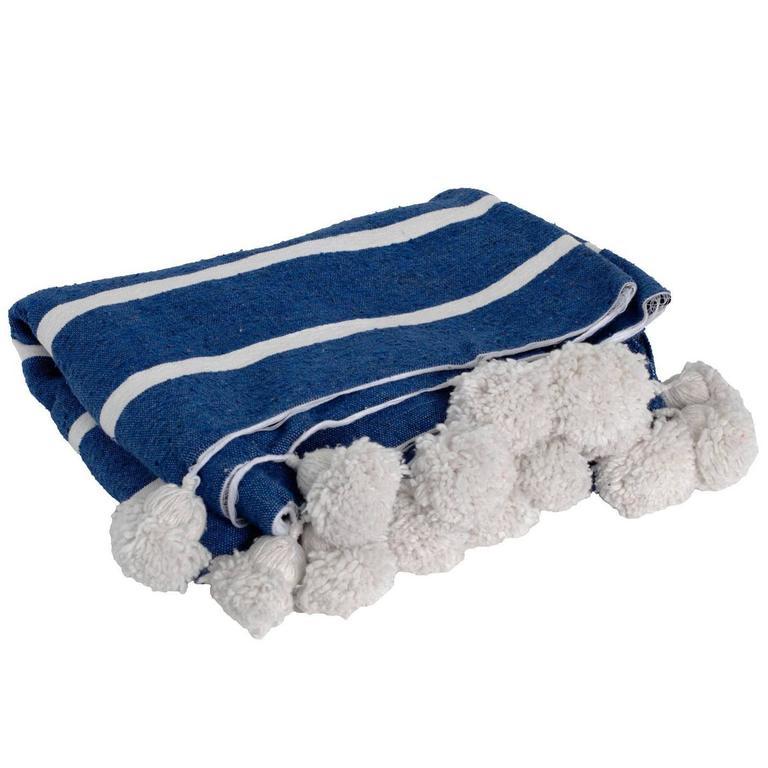Pom-Pom Blanket