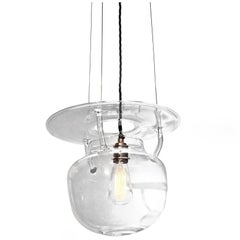 Carry Artid - hancrafted borosilicate glass lamp, designed by Nigel Coates