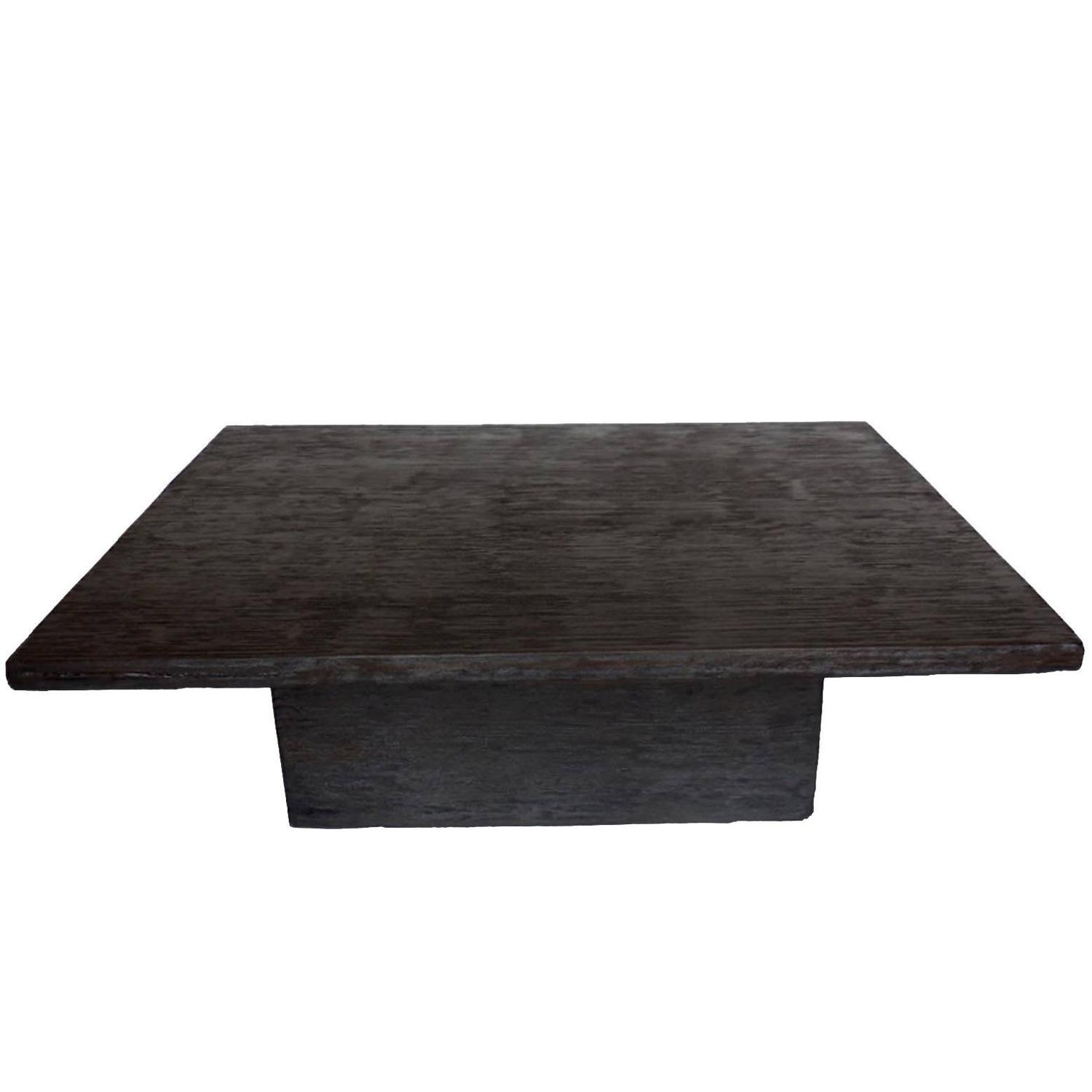 "Clifton Road"" Mahogany Coffee Table by Terry Hunziker in Espresso"
