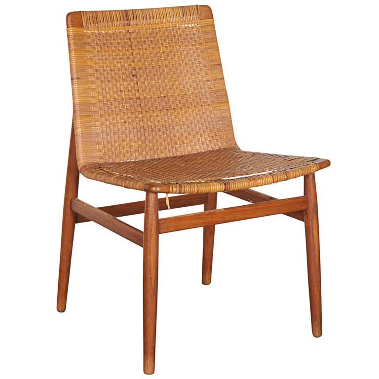 Wicker Desk Chair 1