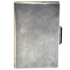Sterling Silver Art Deco Cigarette Case or Wallet
