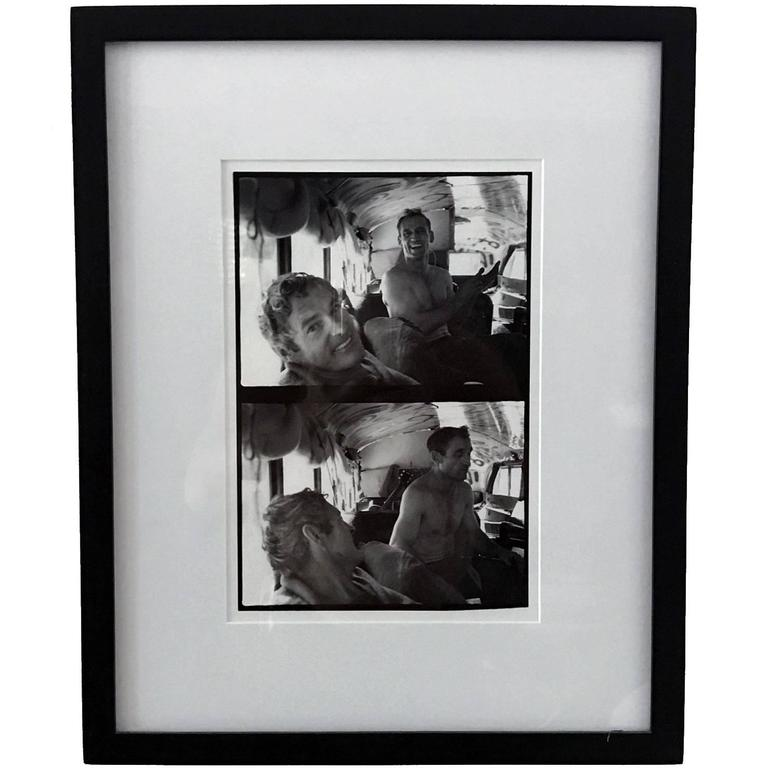 Photograph of Neal Cassidy and Timothy Leary by Allan Ginsberg For Sale