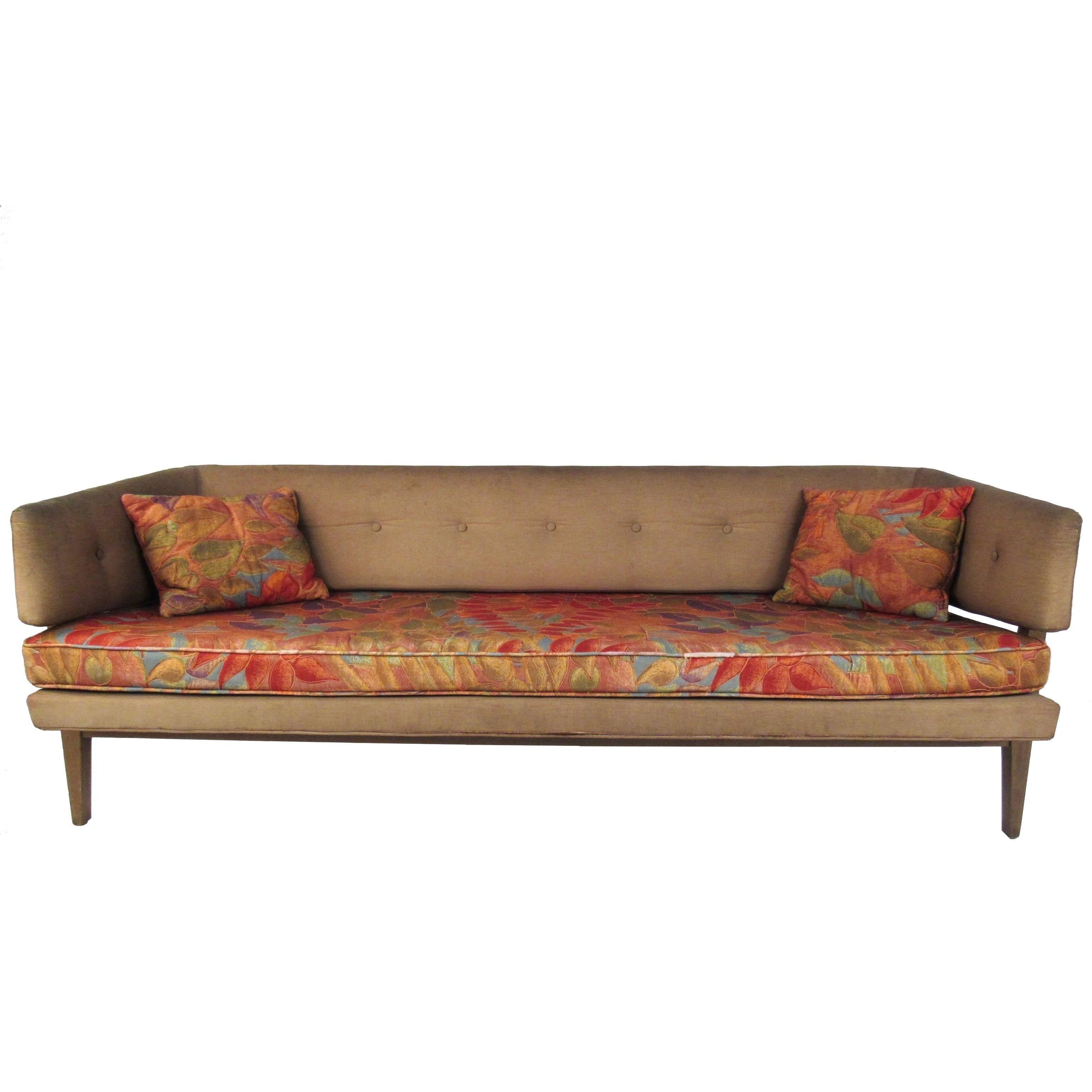 Mid-Century Edward Wormley Sculptural Sofa for Dunbar