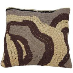 Vintage Textile Floor Pillow