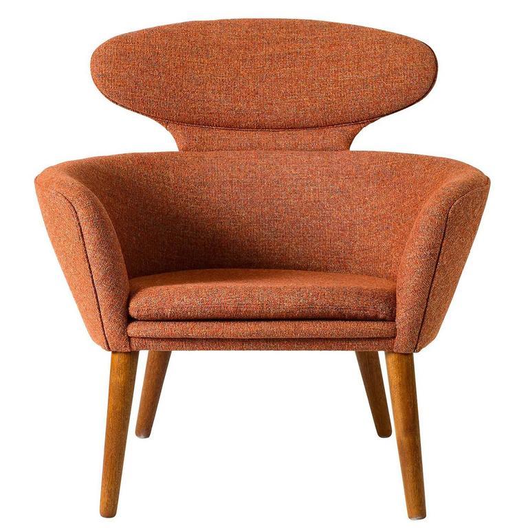 Unusual Furniture For Sale: Unusual Danish Lounge Chair At 1stdibs