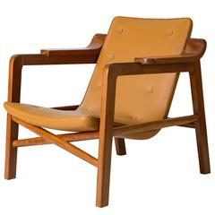 "Tove & Edvard Kindt Larsen ""Fireplace"" Chair"