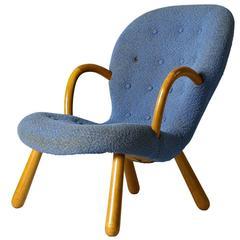 """Philip Arctander """"Clam"""" Chair"""