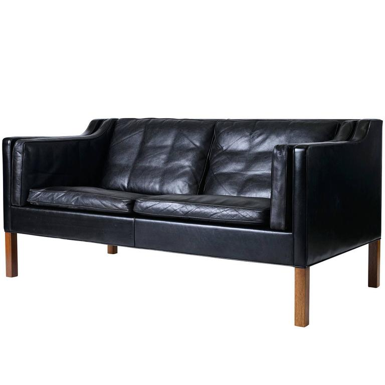 Borge Mogensen Model #2212 Two-Seat Sofa