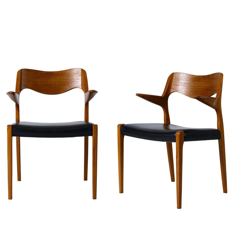 Niels Otto Møller Furniture - 140 For Sale at 1stdibs
