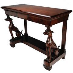 Neapolitan Neoclassical Console Table