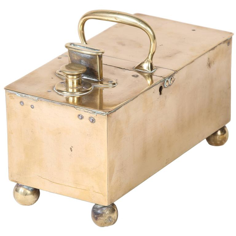 English Brass Honour Tobacco Box 1