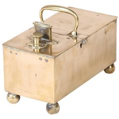 English Brass Honour Tobacco Box