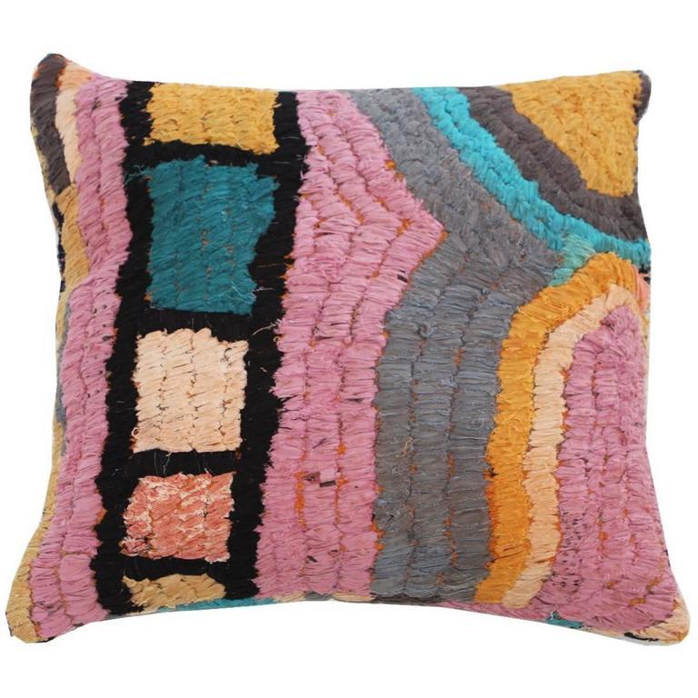 Vintage Textile Floor Pillow