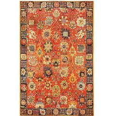 Tabriz Design Vintage Tetex Rug