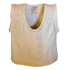 White Ceramic T-Shirt Vase