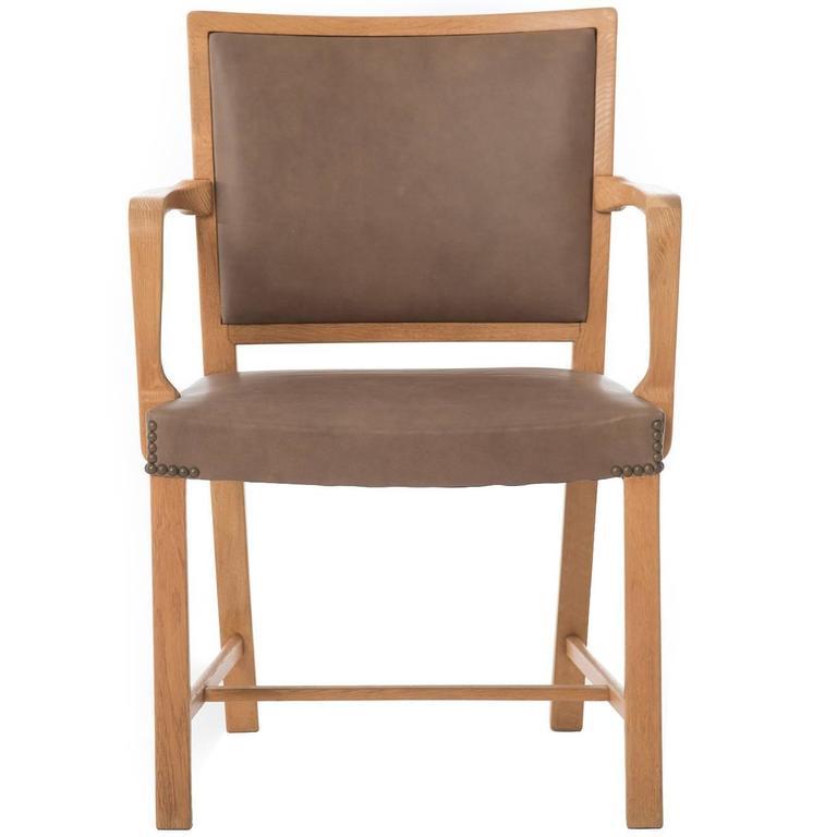 Oak Mogens Koch Occasional Armchair