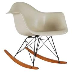 Mid-Century Modern Herman Miller Original Rocking Chair by Charles Eames