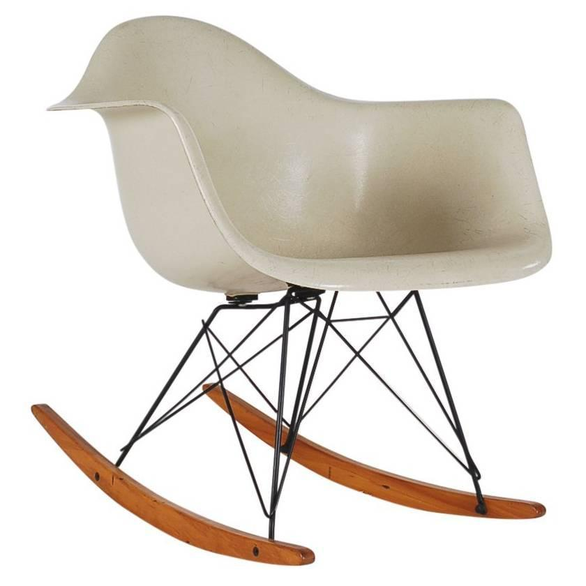 Mid-Century Modern Herman Miller Original Rocking Chair by Charles ...