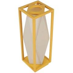 Fun Mid-Century Modern Geometric Pop Art Table Lamp After Stilnovo or Artemide