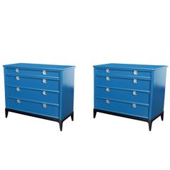 Vintage Lacquered Chest of Drawers