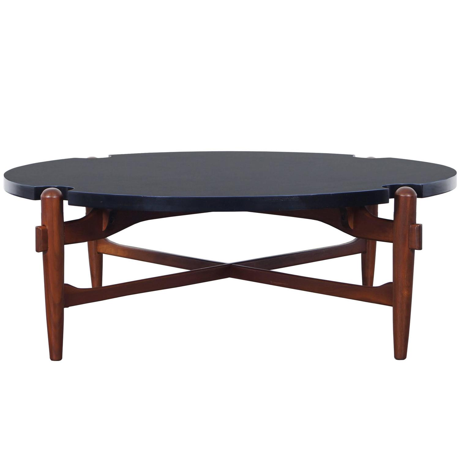 Vintage Coffee Table Attributed to Greta Grossman For Sale at 1stdibs