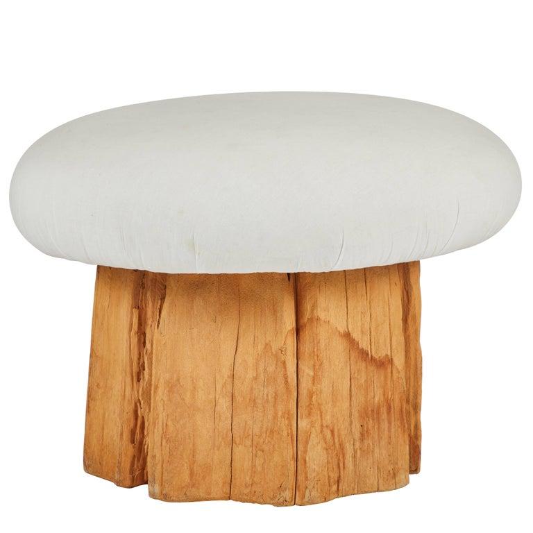 Mushroom Stool by Michael Taylor
