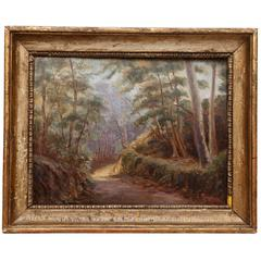 Barbizon School painting, second half of the 19th century